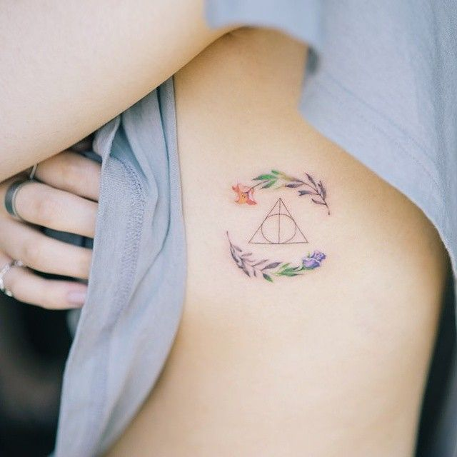 13 Subtle Harry Potter Tattoo Ideas To Show Off Your Love For The