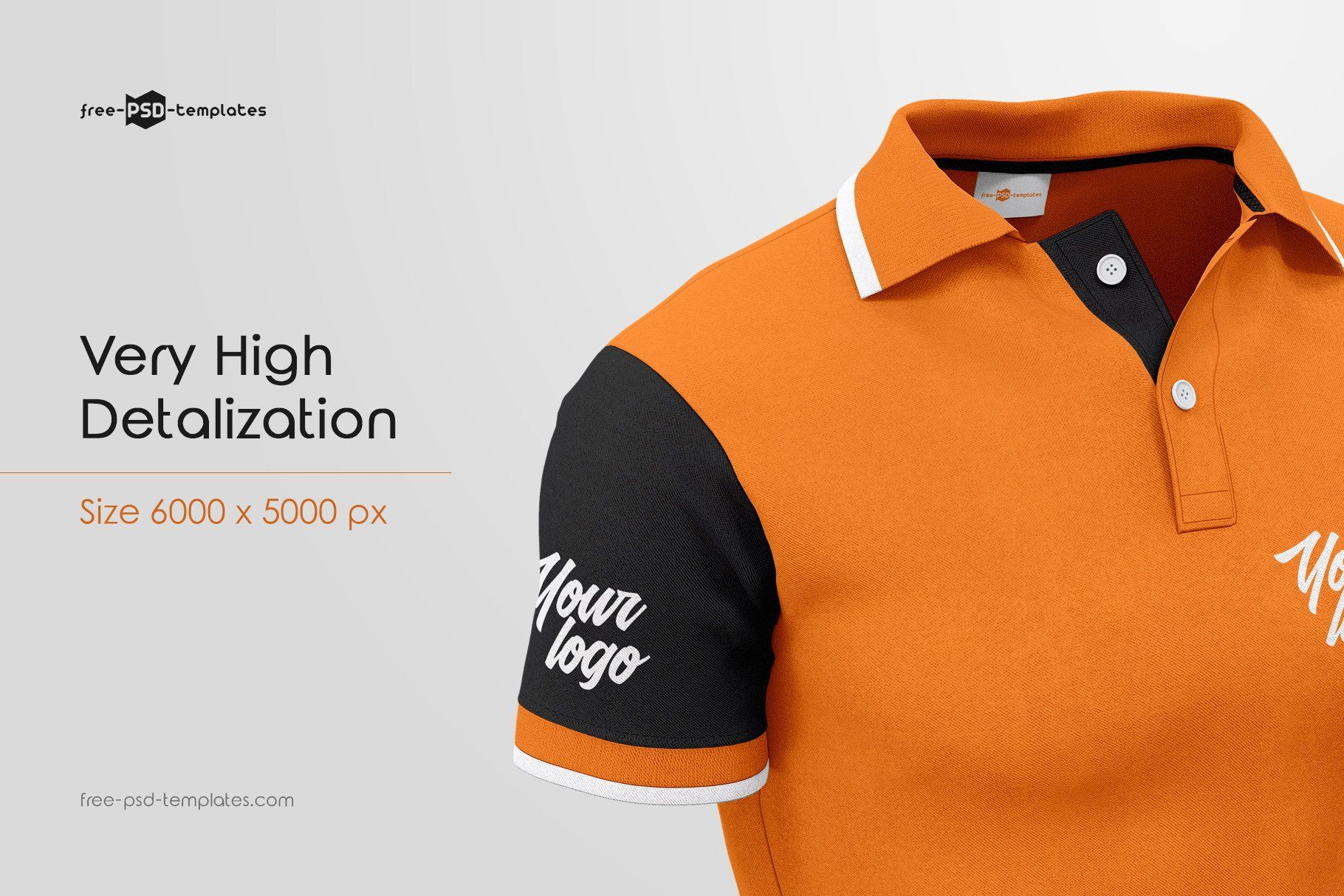 5915+ Polo T-Shirt Mockup Psd Free Yellowimages Mockups