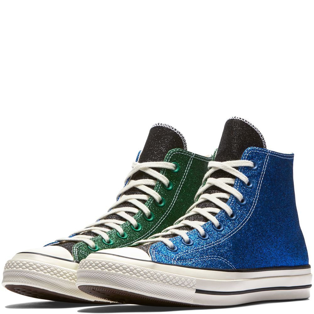 139c80347e63 Converse x JW Anderson Chuck Taylor All Star 70 Blue Green Egret ...