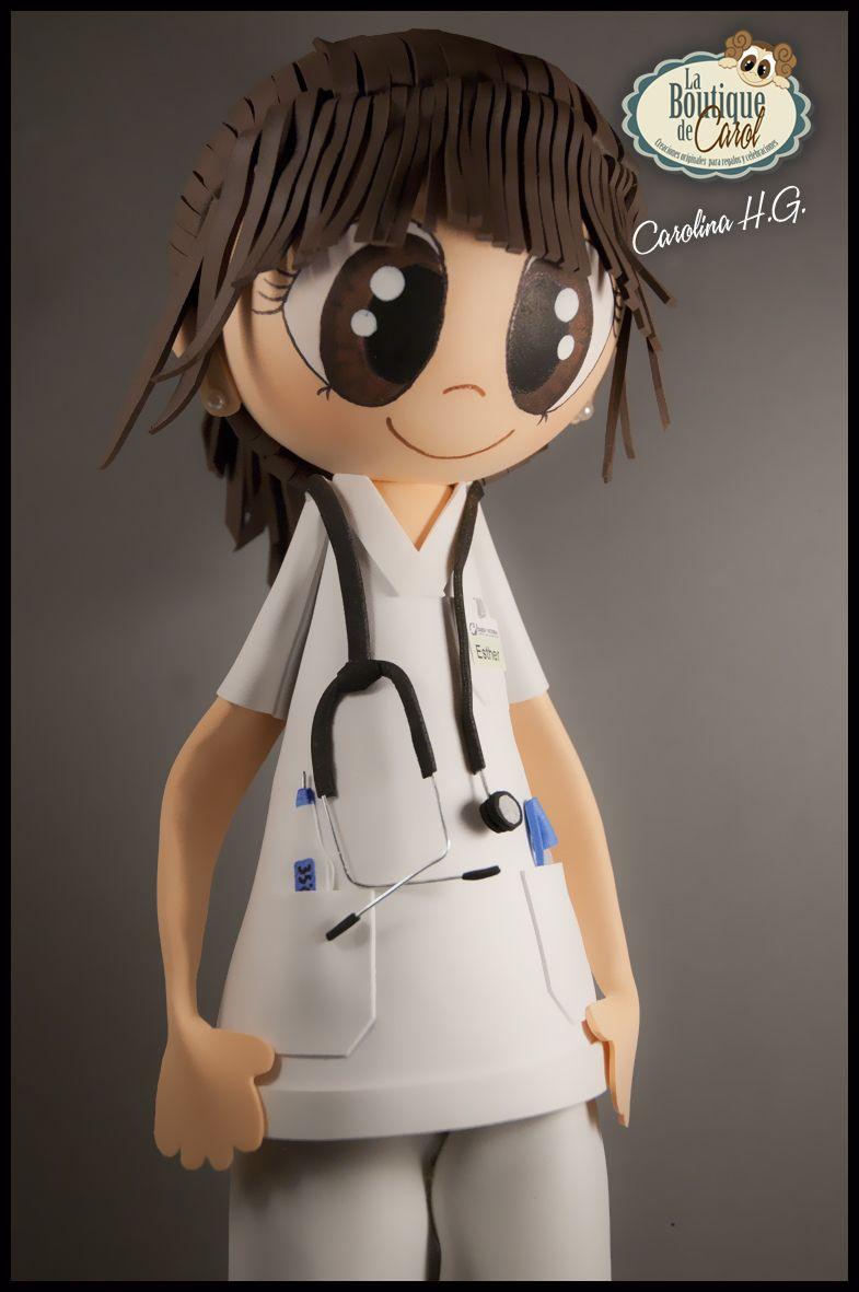 Fofucha enfermera personalizada