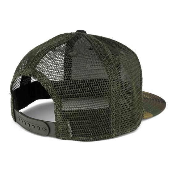 38e69203b5c3a Top Gun Black Yellow Embroidered Iron On Patch Adjustable Mesh Camo Cap  (153-1120-PM246)
