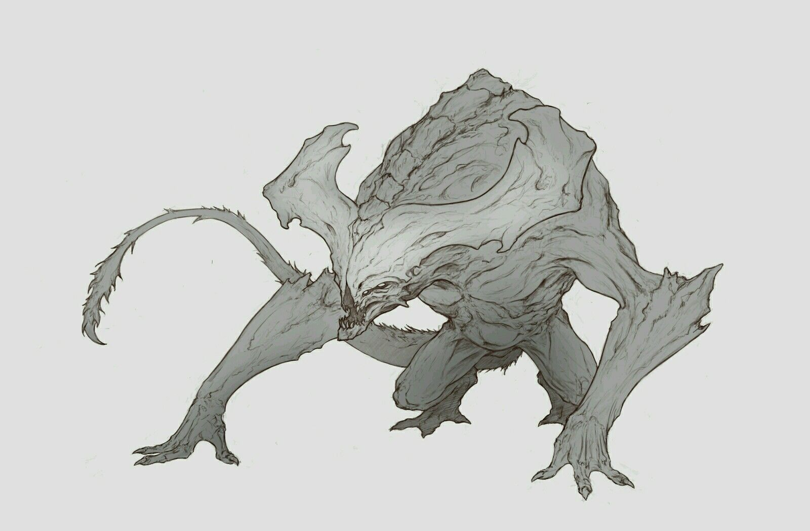 Pin by Roger Dillon on Beasts   Monster concept art ...