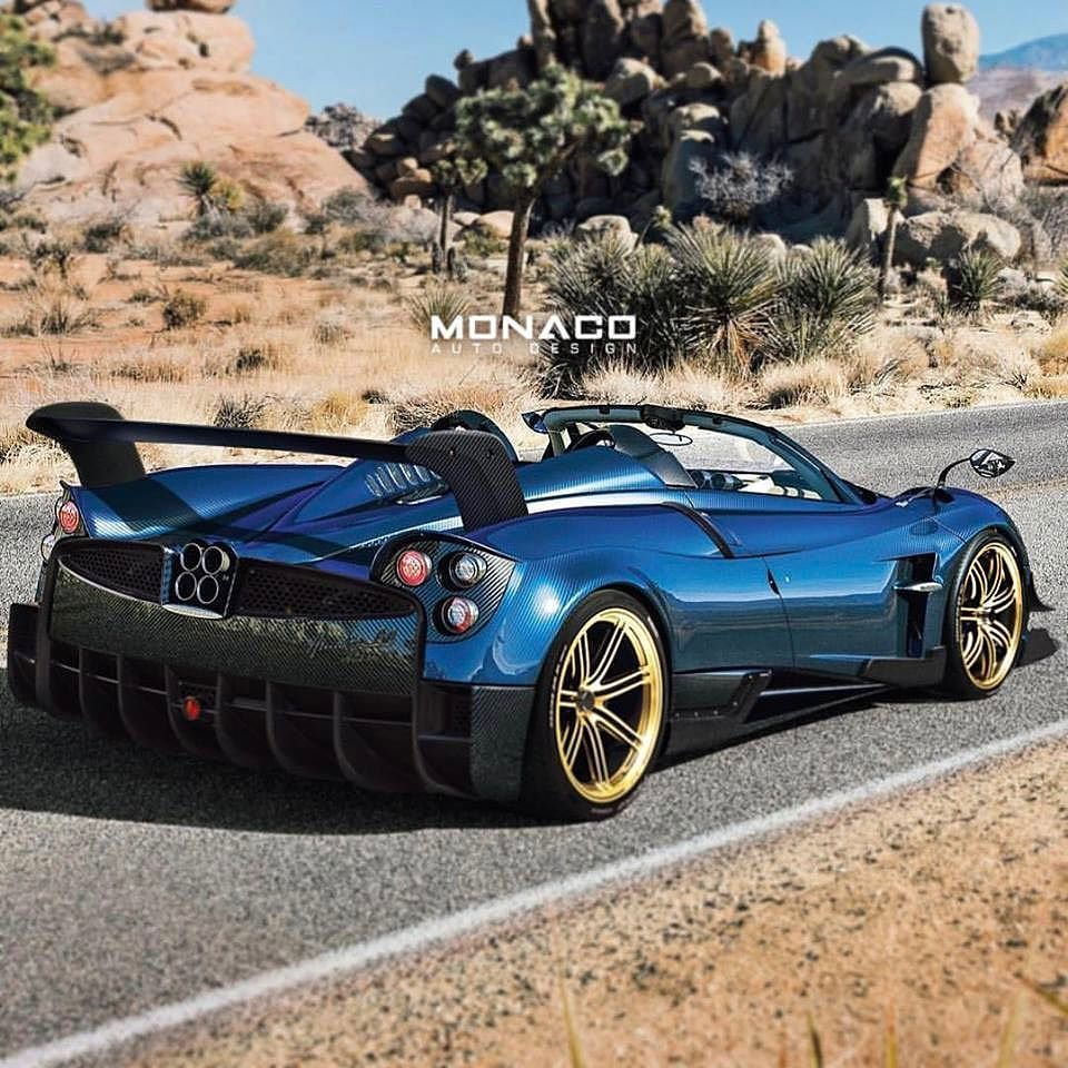Pagani Huayra BC Roadster Anyone? Epic Rendering By