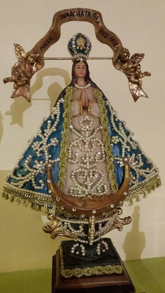 Virgen San Juan De Los Lagos Jalisco Decoracion Con Perlas Buddha Statue Statue Princess Zelda