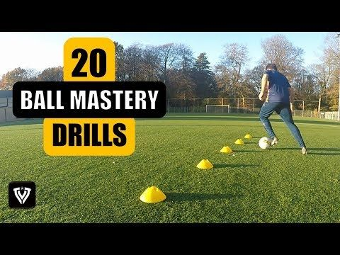 20 BALL MASTERY EXERCISES | FOOTBALL SOCCER TRAINING | U7 - U8 - U9 - U10 - U11 - U12 - U13 - U14