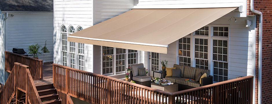Solair Pro Trivantage Retractable Awning Awning Shade Deck Awnings
