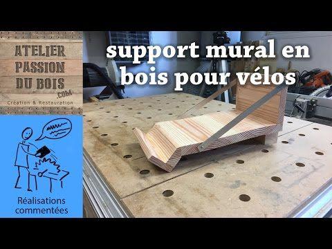 Support Mural Bois Velo Realisation D Un Support Mural En Bois