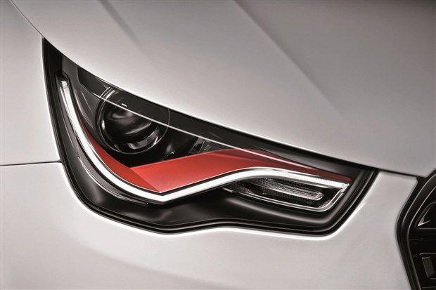 2012 Audi A1 Quattro Headlight Audi A1 Concept Car Design Audi A1 Quattro