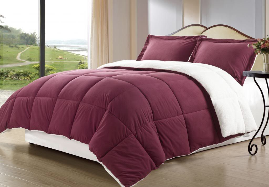 down comforter blue king getmojito and brown sets