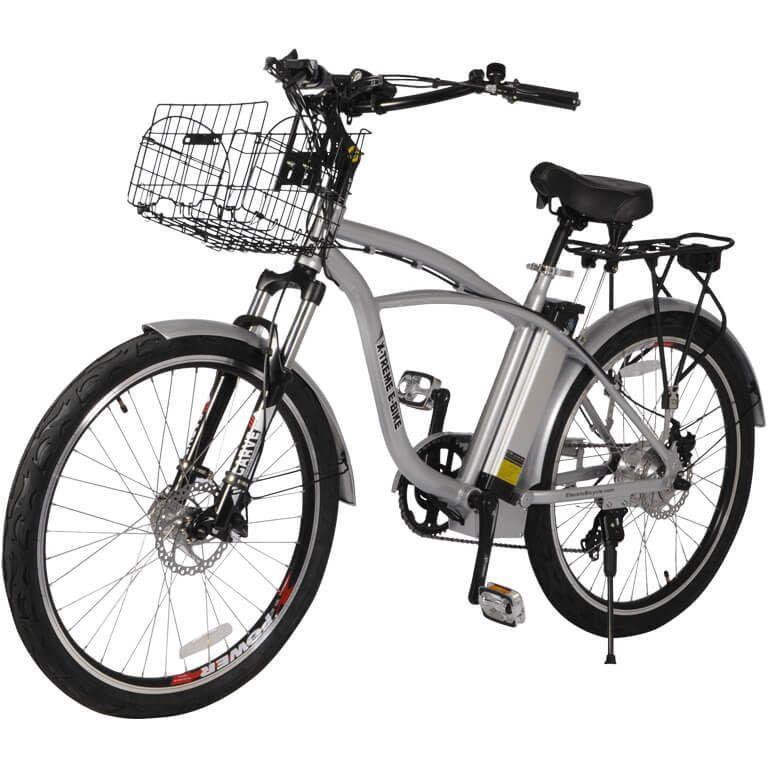 X Treme Kona 36v Beach Cruiser Electric Bicycle Bicycling And