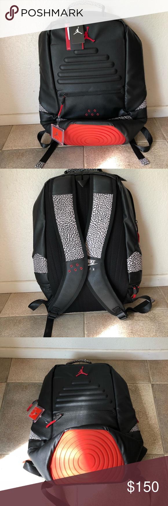 Jordan Retro 3 Backpack - Brand new Jordan Retro 3 Backpack - Red Black  color a2a8a803f280e