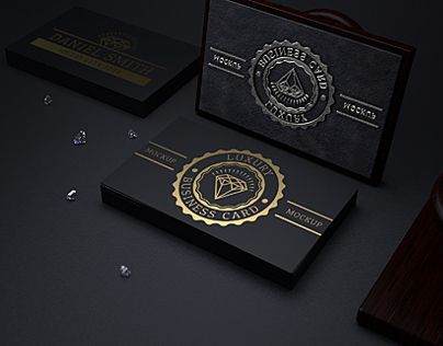 Luxury business card gold foil pinterest luxury business cards luxury business card reheart Gallery