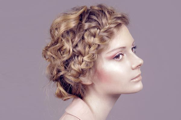 Awe Inspiring 1000 Images About Prom Hair Styles For Curly Hair On Pinterest Hairstyles For Men Maxibearus