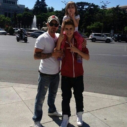 The bieber family ♥