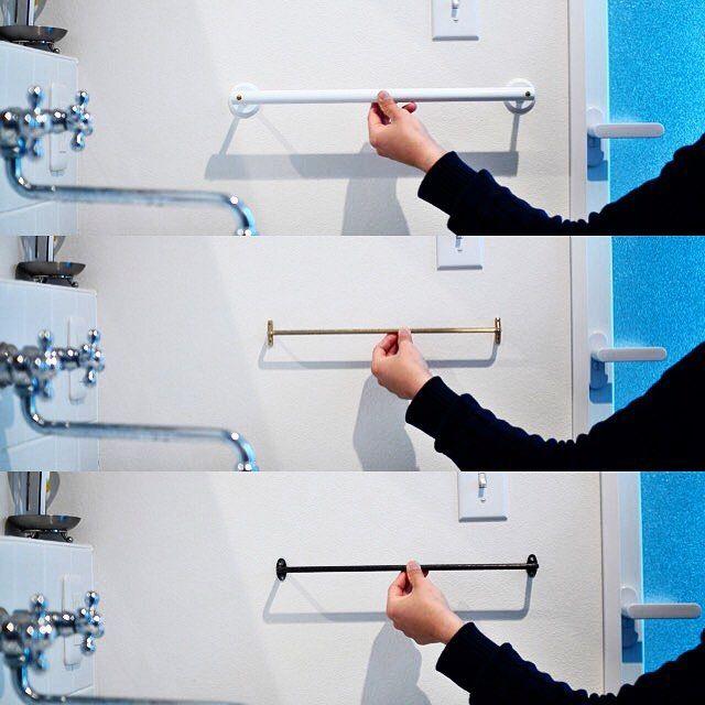 鉄 おしゃれまとめの人気アイデア Pinterest 38 タオル掛け 洗面