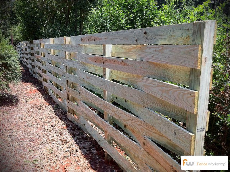 superior how to build a basket weave fence #5: Basket Weave Wood Privacy Fences | The Strickland™