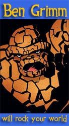Ben Grimm the thing fantastic four