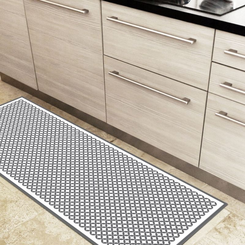 tapis vinyle pour la cuisine motif pop
