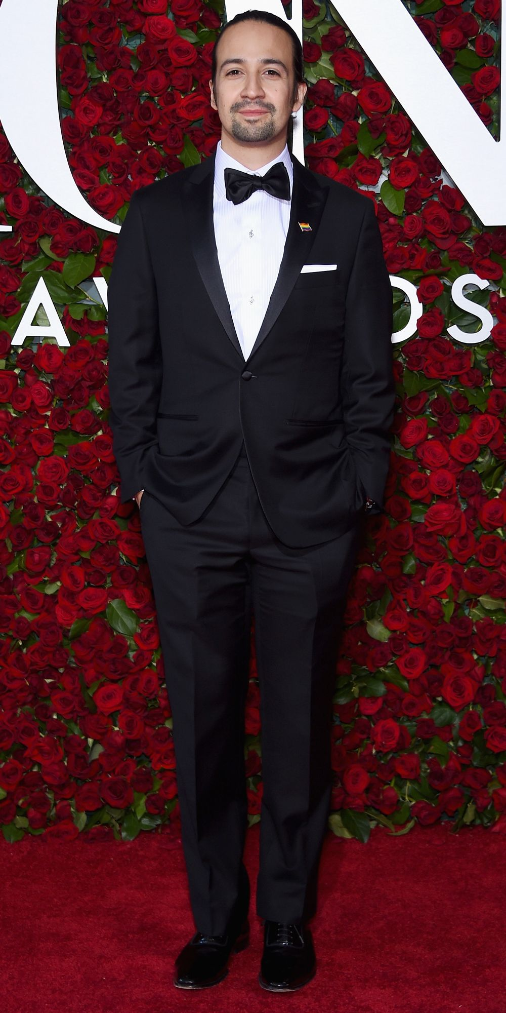 See Photos from the 2016 Tony Awards Red Carpet! - Lin-Manuel Miranda from InStyle.com