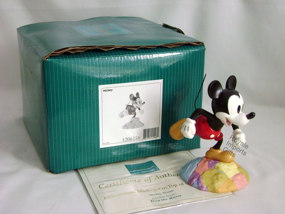 Walt Disney Classic Collection Mickey Mouse On Top Of The World MIB