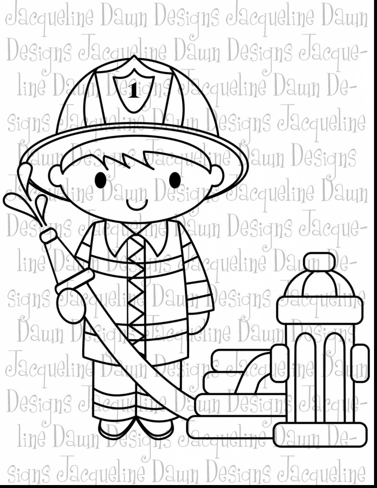 Unbelievable Firefighter Clip Art Black And White With