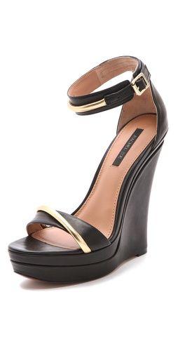 02e1eba97df7  Elegant wedge sandals  Wedges  2dayslook  Wedgesfashion www.2dayslook.com. Rachel  Zoe Katlyn ...