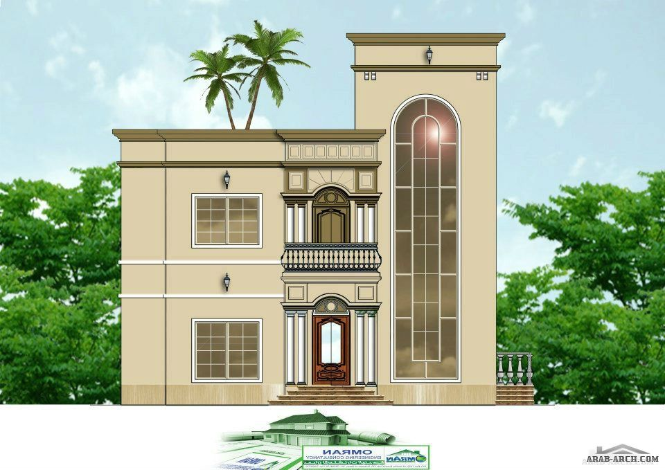 house 2d front design from - 2d House Elevation Designs In
