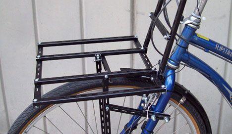 BLB T-Rack Front Porteur Rack Cargo Luggage Bike Carrier