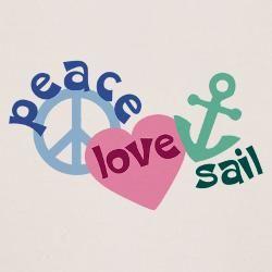 peace love sail