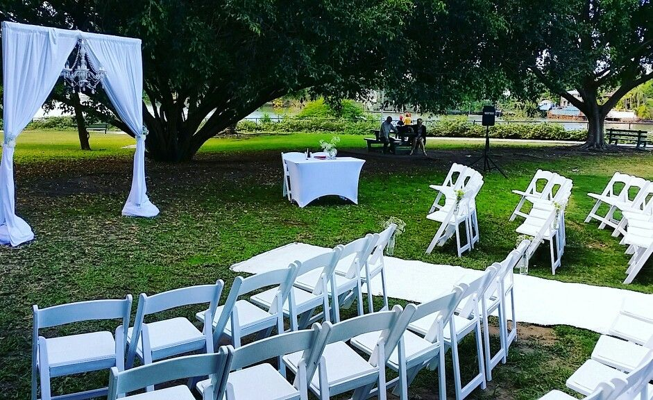 Brisbane Powerhouse Wedding At The Performance Lawn Decor Hire By Decorators