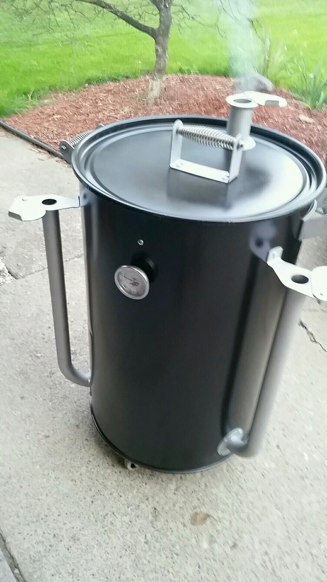 my own ugly drum smoker ugly drum smoker pinterest. Black Bedroom Furniture Sets. Home Design Ideas
