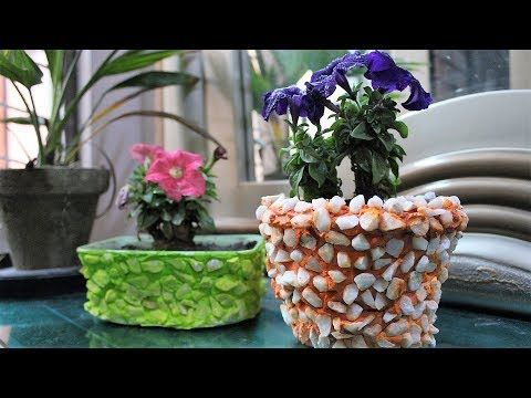 How To Make Plant Pot Diy Cement Craft Cement Pot