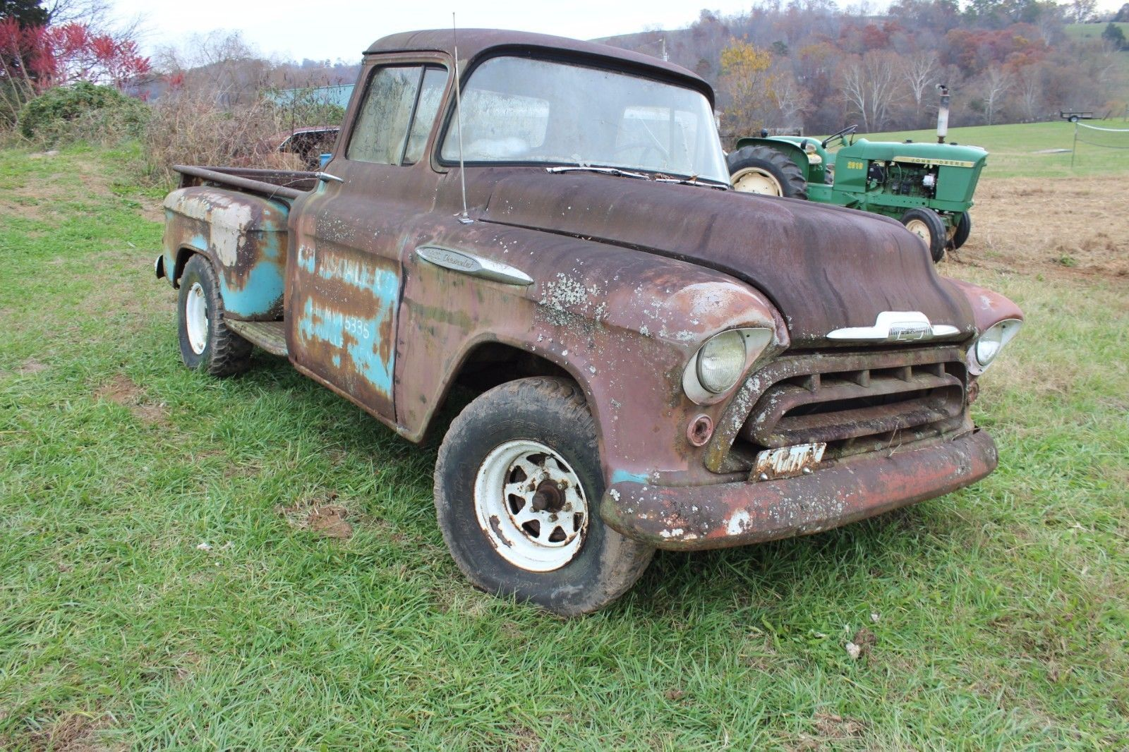 1957 chevrolet other pickups 3200 pinterest 1957 chevrolet rh pinterest com 1957 chevy truck factory assembly manual 1957 chevy truck service manual