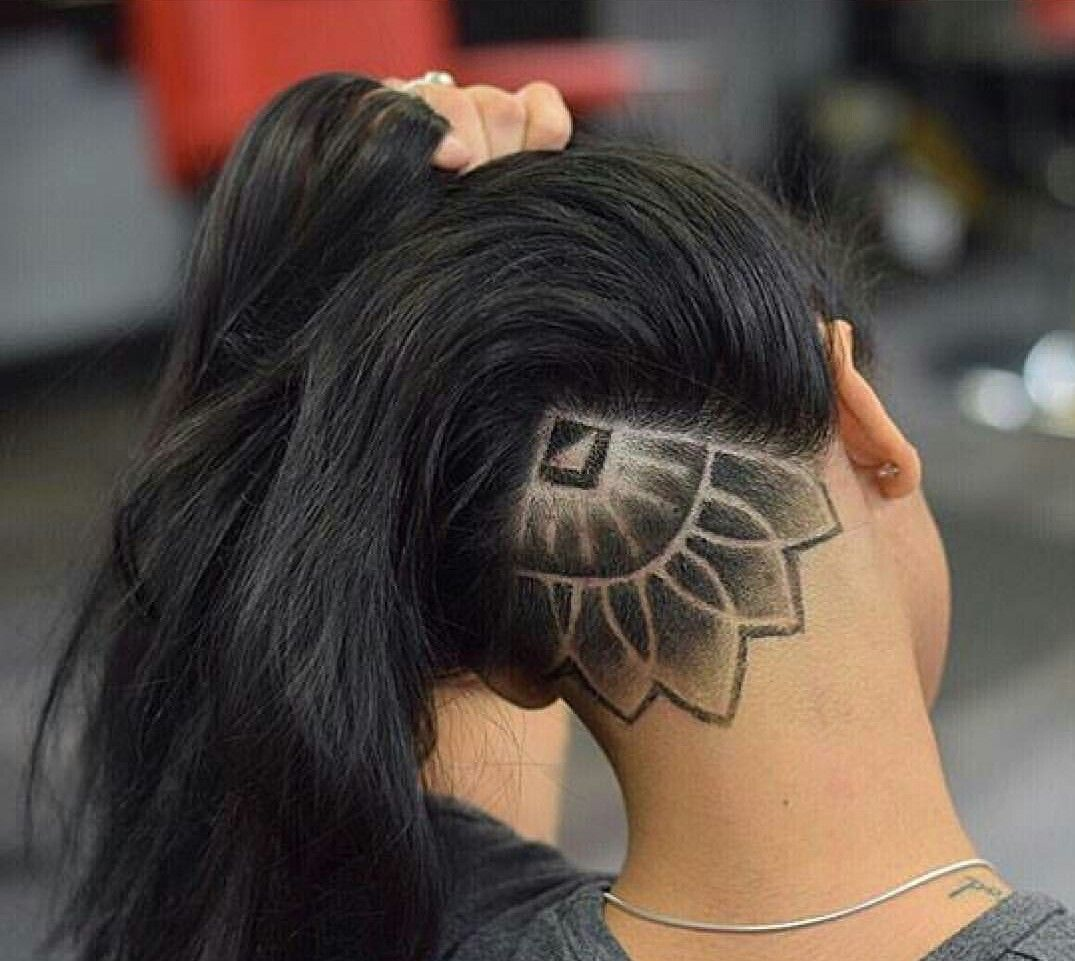i want one really bad | hair | undercut hair designs, hair