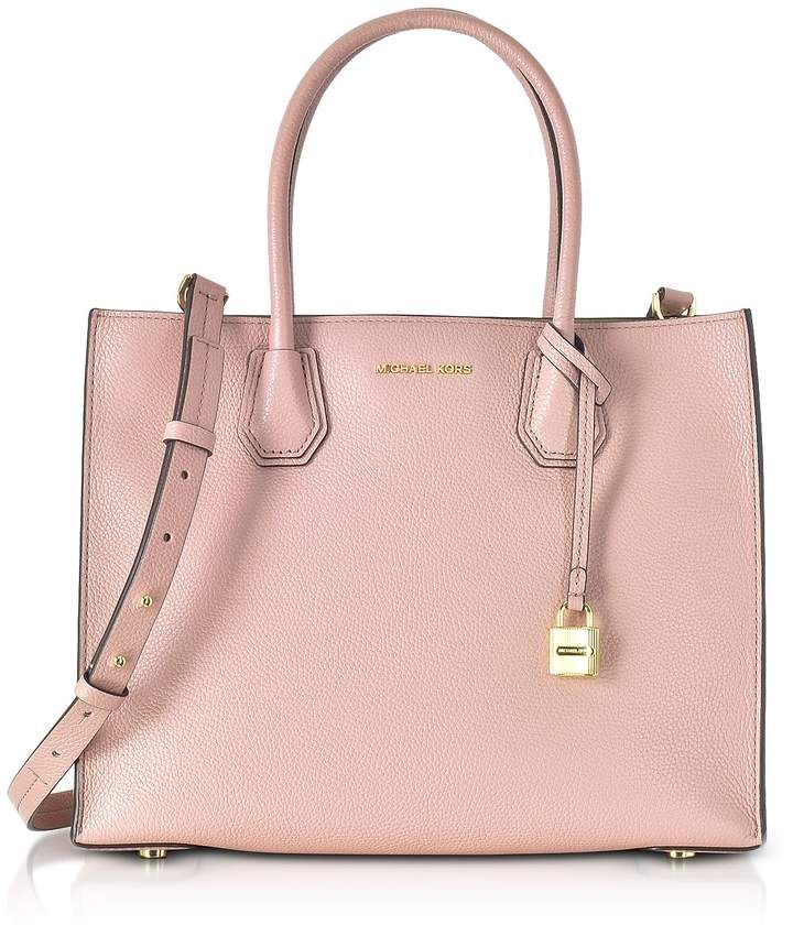 6bd4415eb2bc Michael Kors Mercer Large Leather Tote   Products   Handbags michael ...