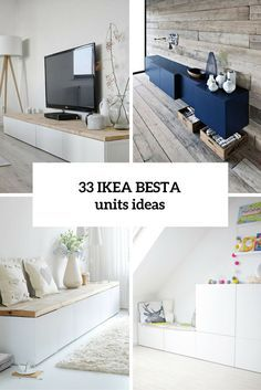 33 Ways To Use IKEA Besta Units In Home Décor Photo
