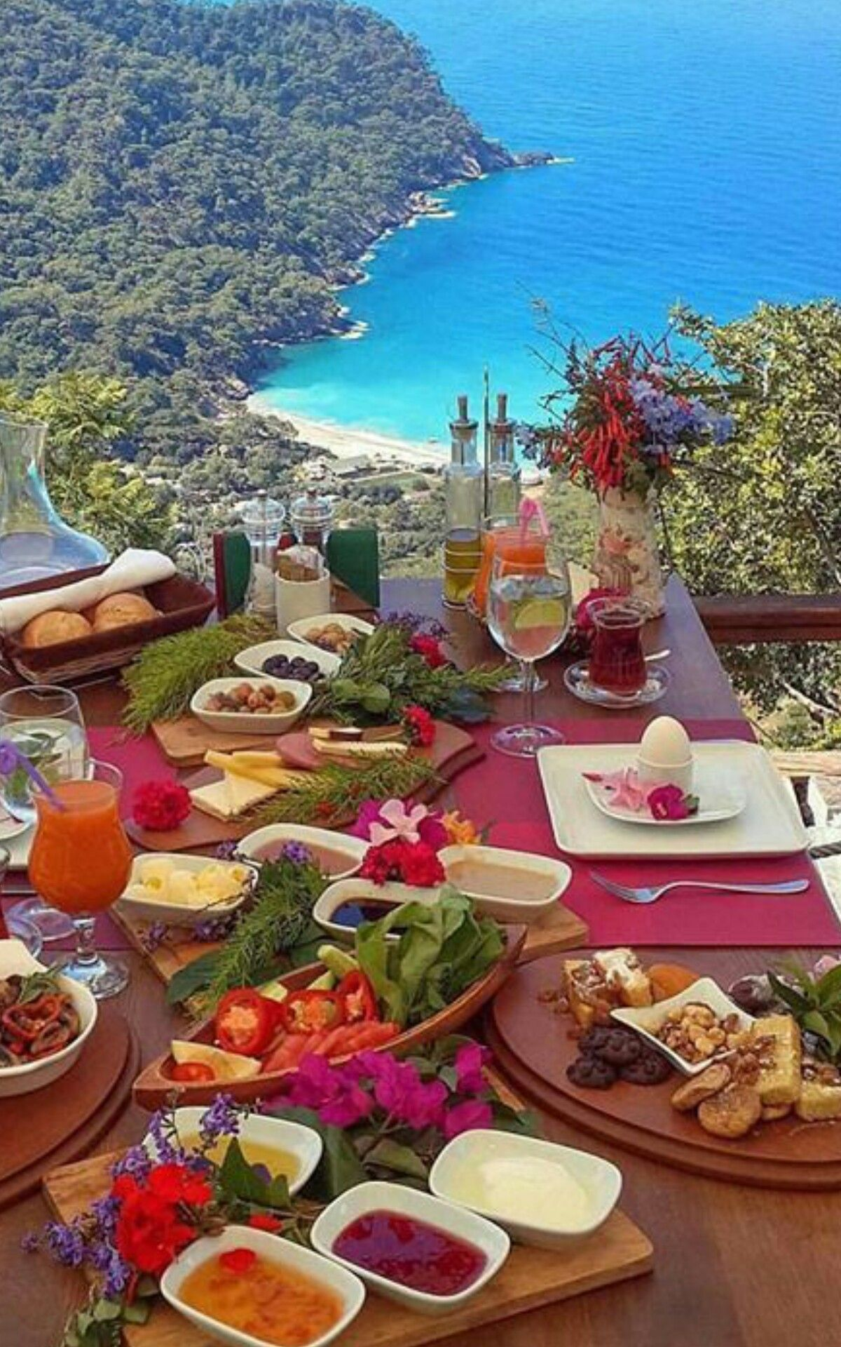 Turkey Breakfast Around The World Best Honeymoon Spots Best Honeymoon