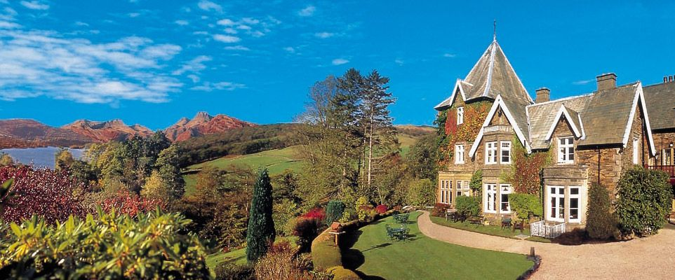 Holbeck Ghyll in Windermere, England