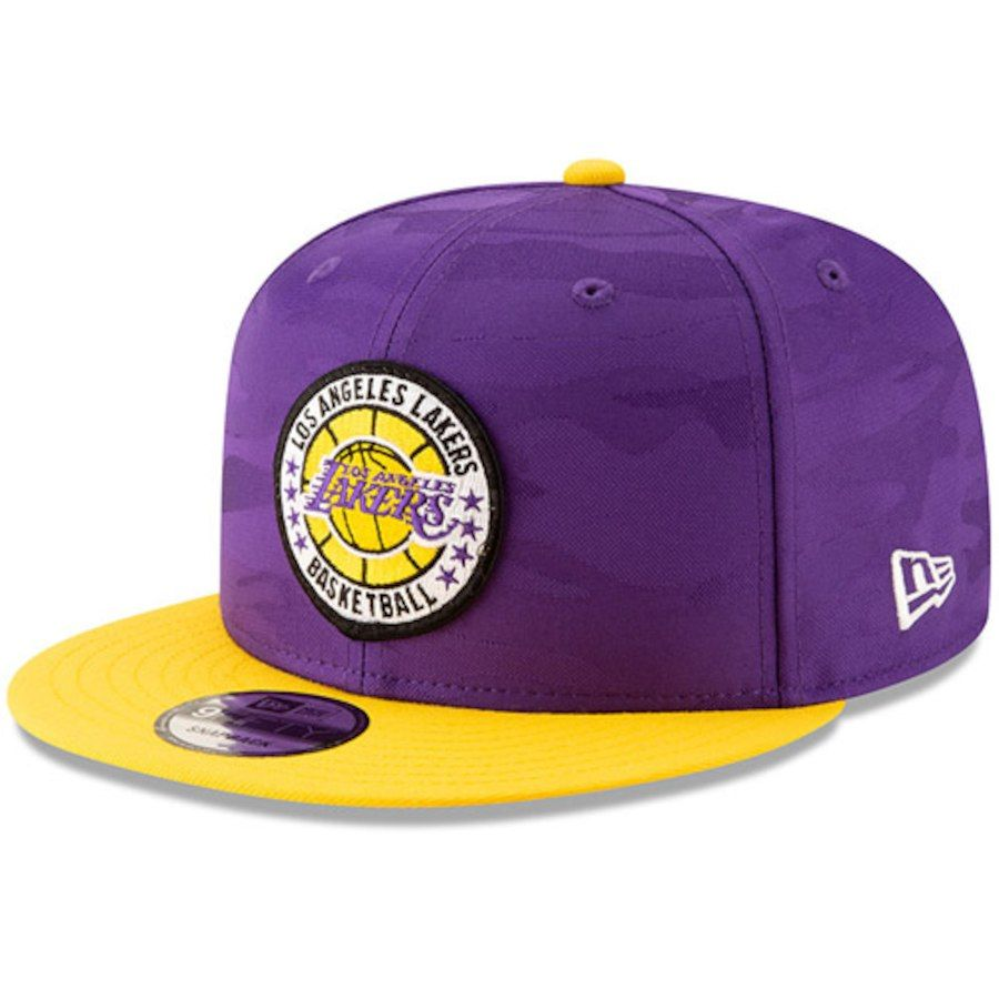 202c27052cd54 france mens los angeles lakers new era purple gold 2018 tip off series two  tone 9fifty