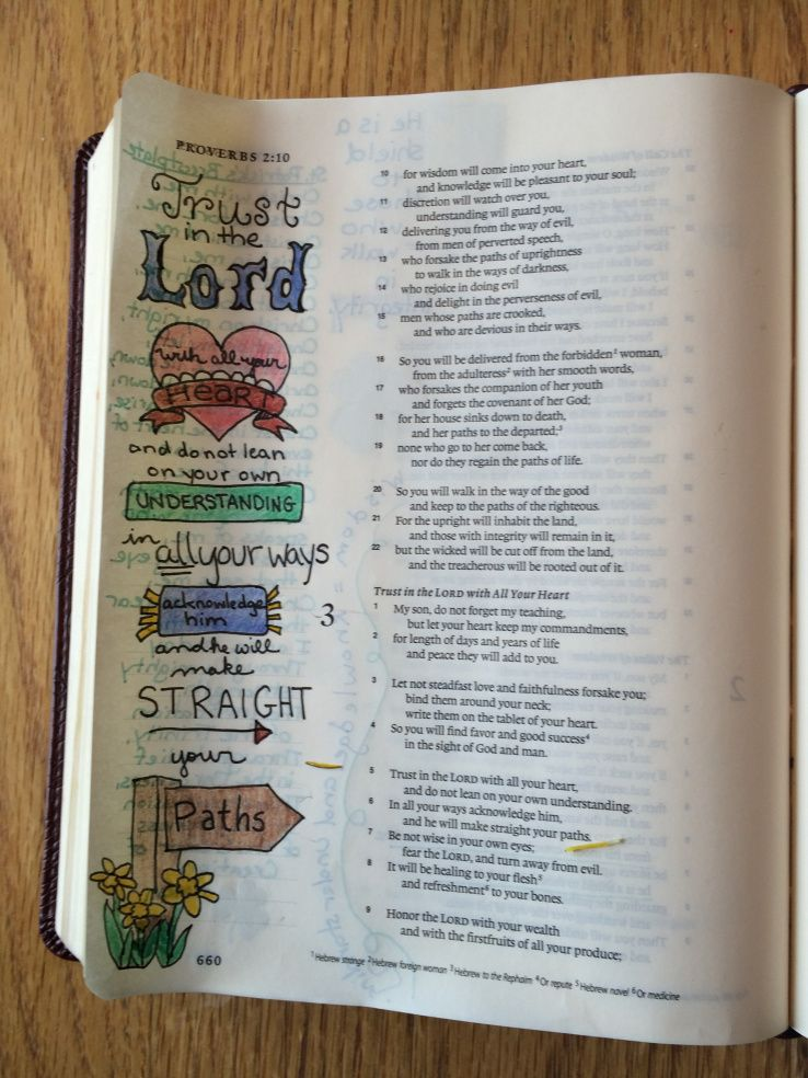 Proverbs 3:5-6 (Journaling the Bible)