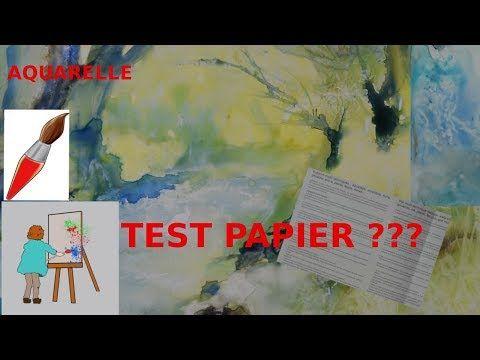 Aquarelle Et Papier Sans Papier Youtube Aquarelle Papier