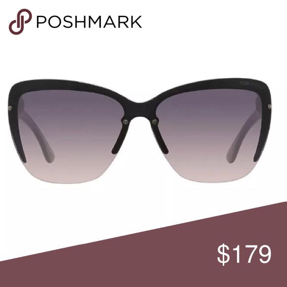 806370e4d66 Tom Ford FT045720B Cat Eye Smoke Lens Sunglasses Tom Ford FT0457-20B Womens  Eyeglasses Cat