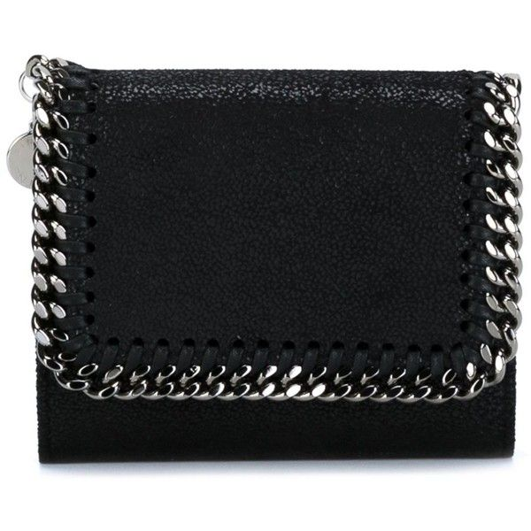 766c6eb92e1c Stella McCartney mini  Falabella  flap wallet (38300 RSD) ❤ liked on  Polyvore