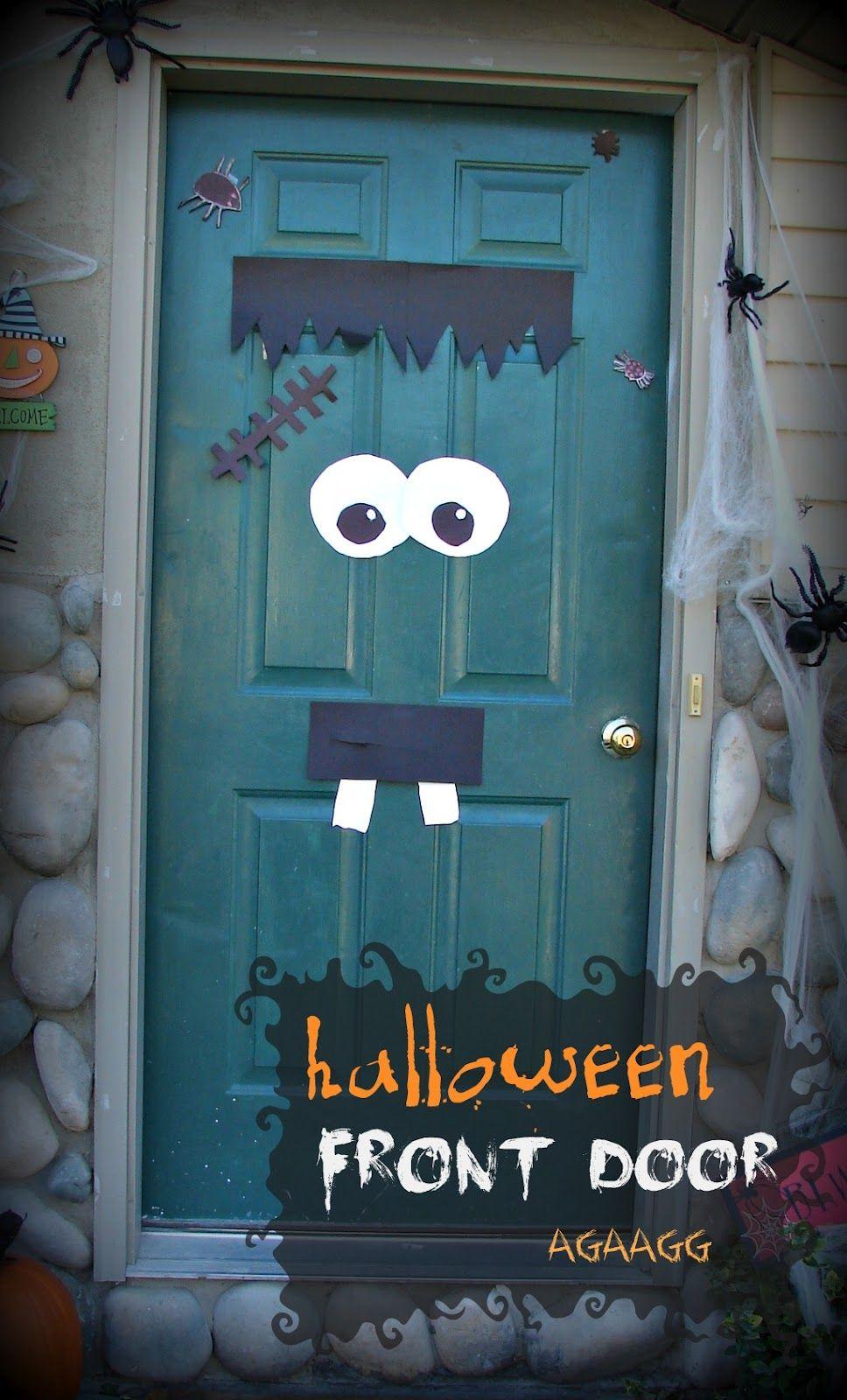 front door fun with kids (aka kid craft monday) halloween