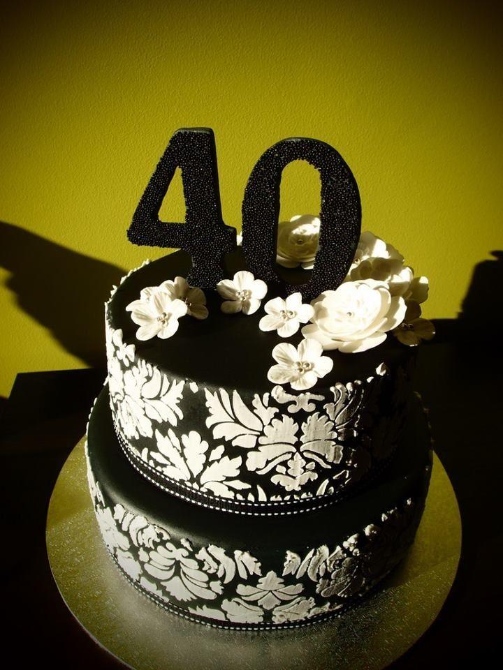 40th birthday cakes brisbane cake Pinterest 40 birthday