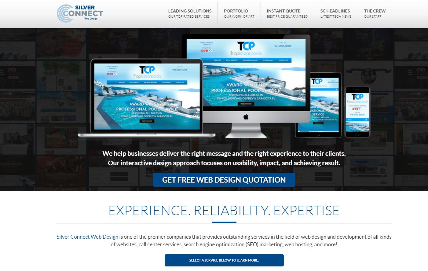About Silver Connect Web Design Web Design Free Web Design Affordable Website Design