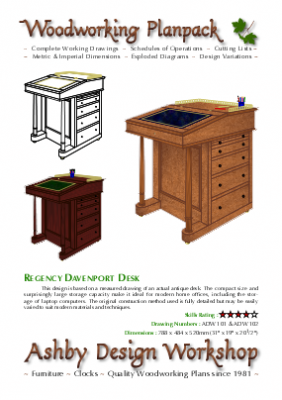 Davenport Desk Plans My 2017 Woodwork Project
