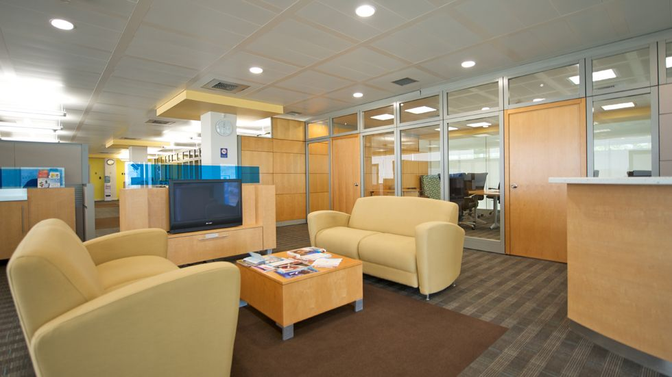 Republic Bank Limited (Gulf View, Trinidad) Reno Lounge Seating In Lobby/reception Area Area