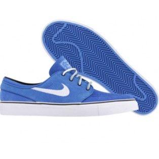 77cb4d4d3021 Nike Zoom Stefan Janoski SB 333824 400 pacific blue white black ...
