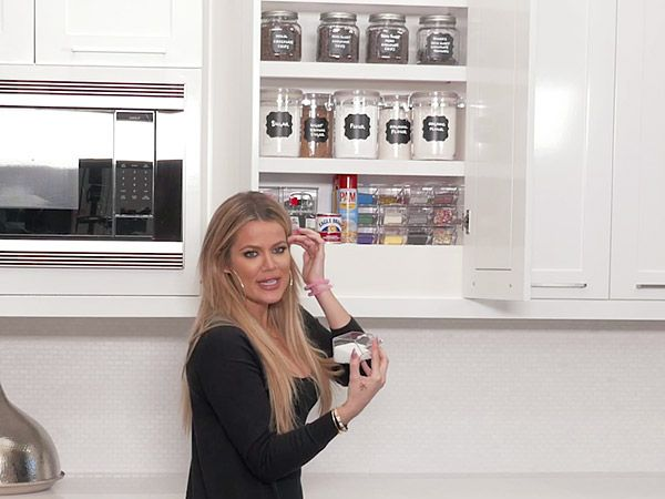 Khlo Kardashian Shows Off Her Meticulously Organized